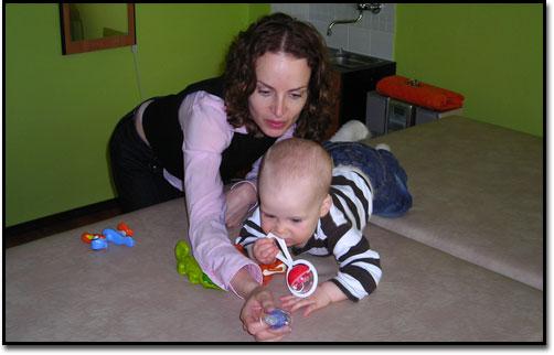 Cvičení maminky s dětmi